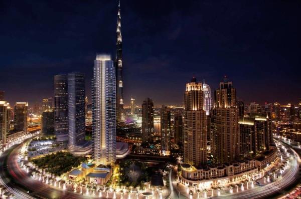 Boulevard Heights è situato sul Mohammed Bin Rashid Boulevard nel centro di Dubai. 2 grattacieli su un podio adornato paesaggisticamente.