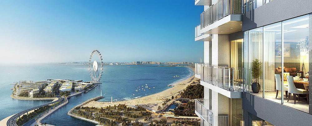 52 42 residence in costruzione a dubai marina con for Planimetrie sul lungomare