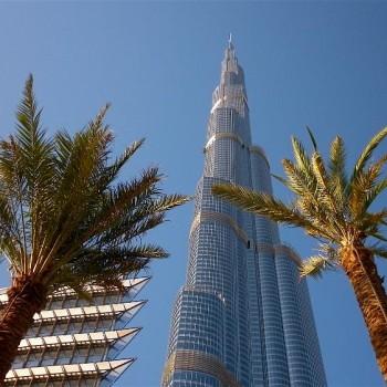 Armani Residences nel Burj Khalifa. Siamo nel cuore di Dubai