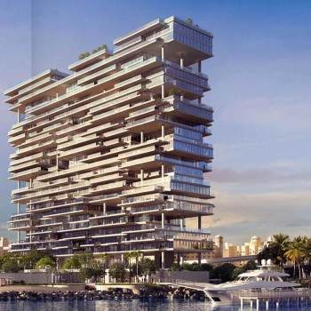 The One - Palm Jumeirah, una struttura fronte mare, dal design fantasioso non convenzionale, progettata per incorporare l'oceano nella vostra vita.