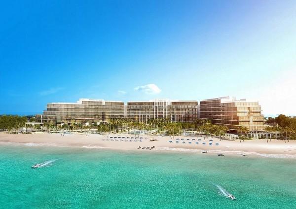 """Bellissimo progetto in costruzione che si trova sulla Palm Jumeirah, composta da 3 edifici di cui il """"Delano"""", un residence gestito come un hotel di lusso."""