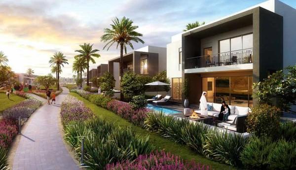 Un'esclusiva comunità residenziale in fase di realizzazione composta da ville.